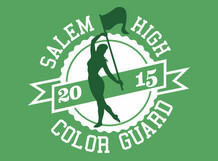 Salem High Color Guard
