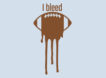 I Bleed Football