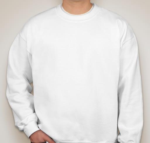 Canada - Gildan Midweight 50/50 Crewneck Sweatshirt - White