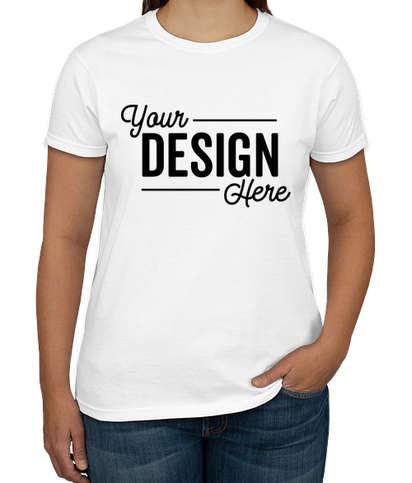 Canada - Gildan Ultra Cotton Women's T-shirt - White