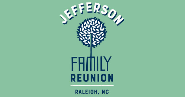 Custom family reunion logo design