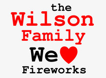 wilson family loves fireworks