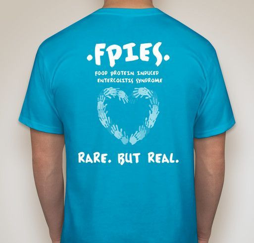 Fpies Awareness Fundraiser - unisex shirt design - back