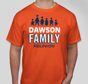 dawson - Family Reunion T Shirt Design Ideas