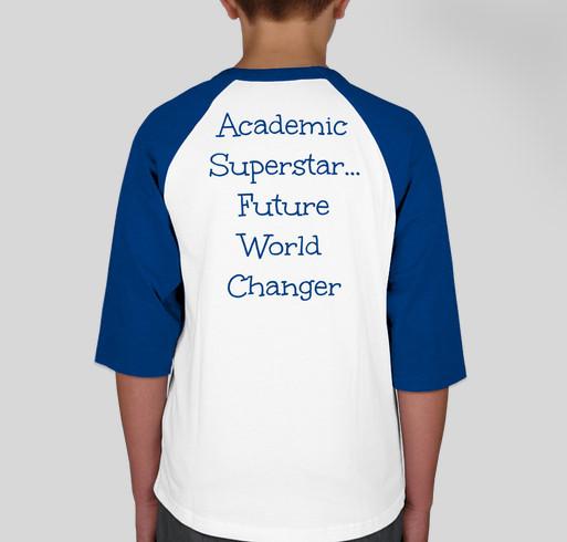 Student Shirts Fundraiser - unisex shirt design - back