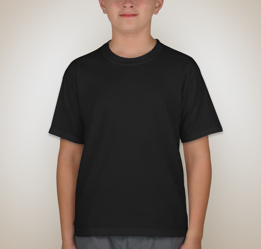 Jerzees Youth 50/50 T-shirt - Black