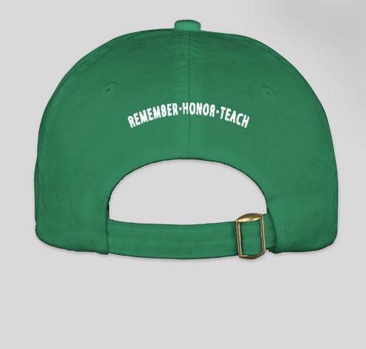 The Wreaths Across America Green Ball Cap With Logo Fundraiser - unisex shirt design - back