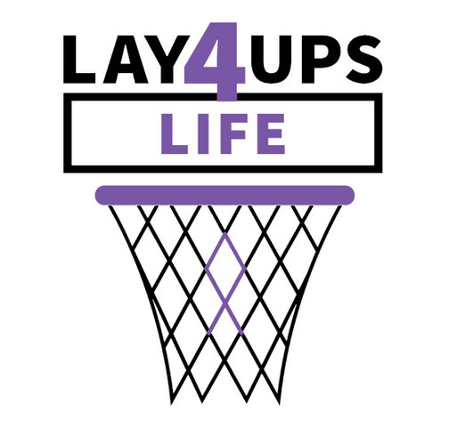 Layups 4 Life shirt design - zoomed