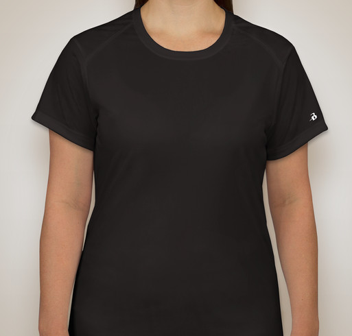 Badger B-Dry Ladies Performance Shirt - Black