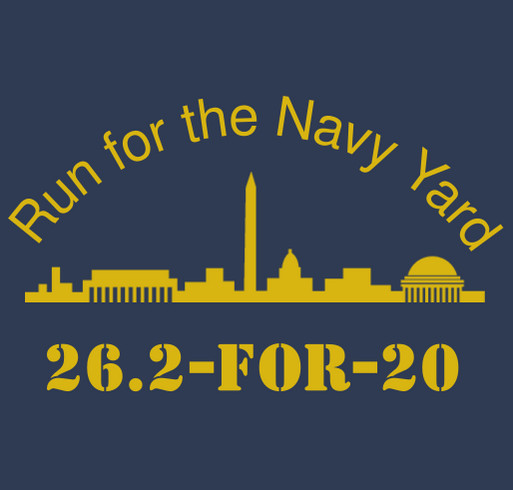 Run For The Navy Yard - Round 2! shirt design - zoomed