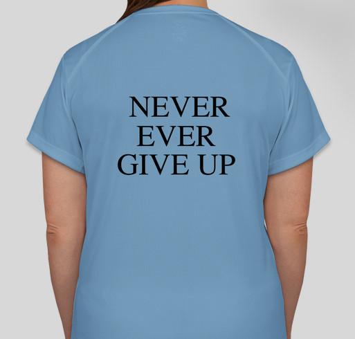 RAAM4Ryan Fundraiser - unisex shirt design - back