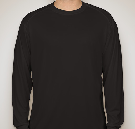 Badger B-Dry Long Sleeve Performance Shirt - Black