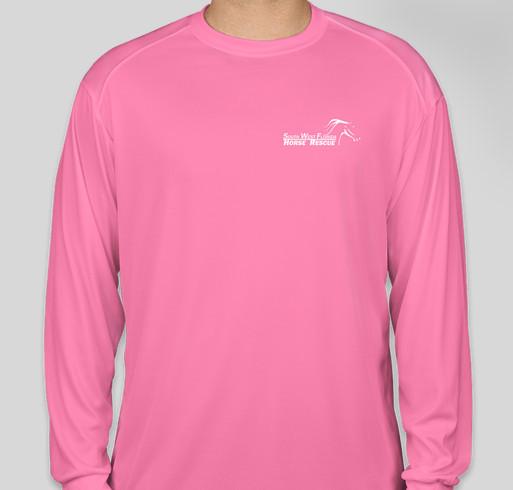 Logo'd performance shirts – SWFHR 005 Fundraiser - unisex shirt design - front