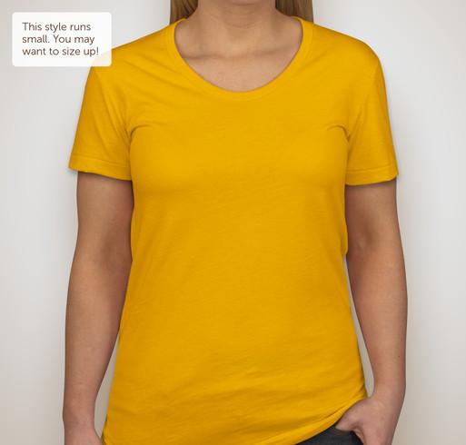 American Apparel Juniors 50/50 T-shirt - Neon Yellow