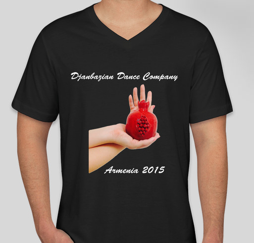 Dance Performance Tour in Armenia 2015 Fundraiser - unisex shirt design - front