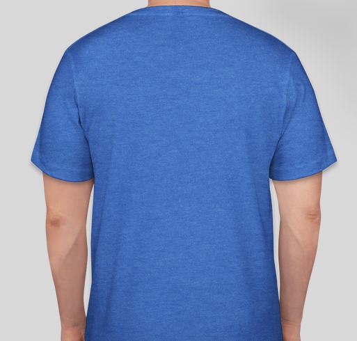 Pinwheels for Prevention 2020 - Go Blue Nevada! Fundraiser - unisex shirt design - back