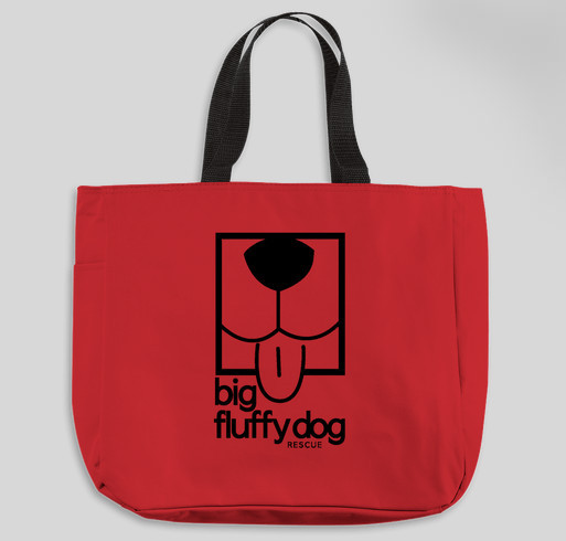 Big Fluffy Dog Rescue Fundraiser - unisex shirt design - front