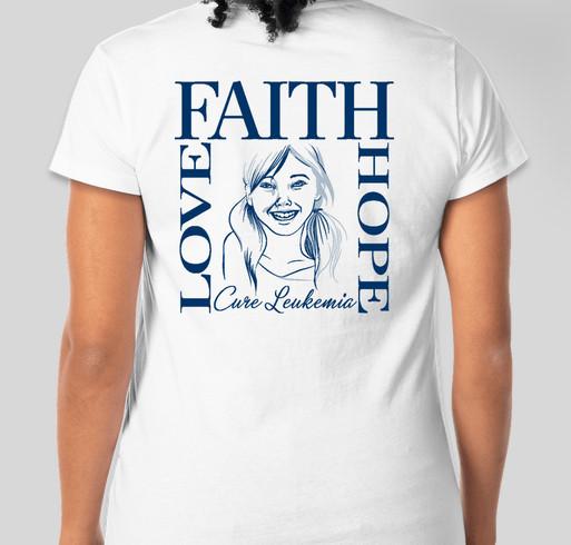 Team Jo Jo Fundraiser - unisex shirt design - back