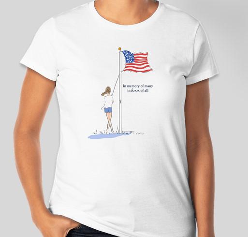 Wreaths Across America Partners With Heather Stillufsen Fundraiser - unisex shirt design - front