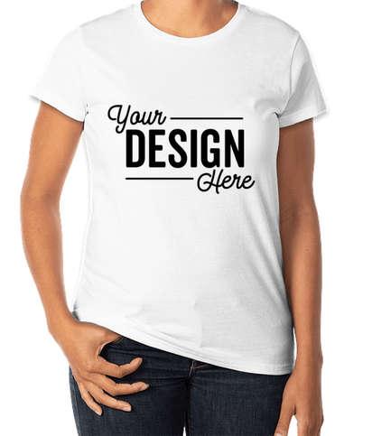 Anvil Women's Jersey T-shirt - White