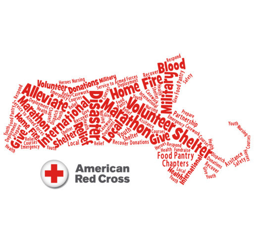American Red Cross Giving Tuesday Fundraiser shirt design - zoomed