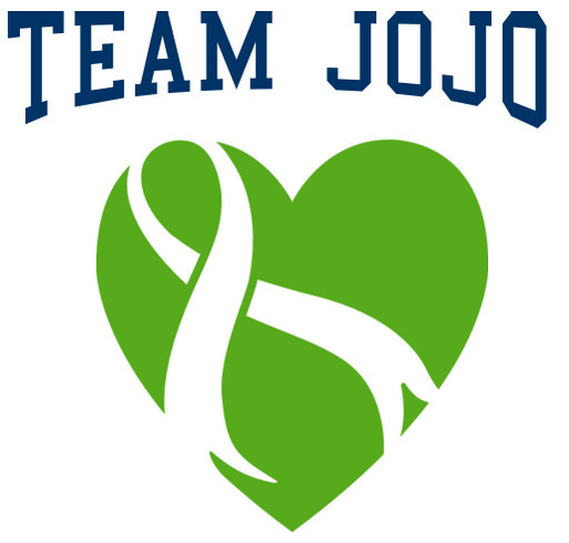 Team Jo Jo shirt design - zoomed