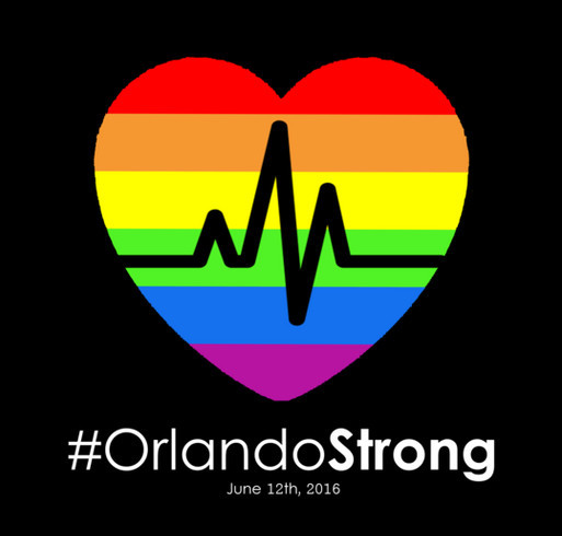 #OrlandoStrong T-Shirts - Buy a T-Shirt and Support the Victims' Families shirt design - zoomed