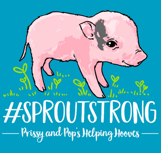 #SPROUTSTRONG shirt design - zoomed