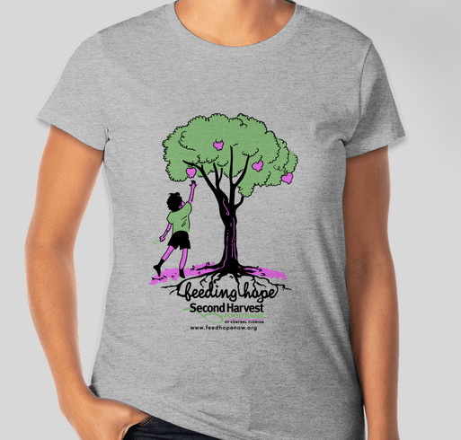 Second Harvest Food Bank of Central Florida Fundraiser - unisex shirt design - front