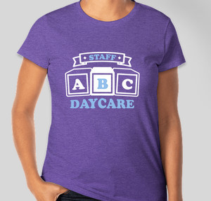 Daycare T-Shirt Designs - Designs For Custom Daycare T