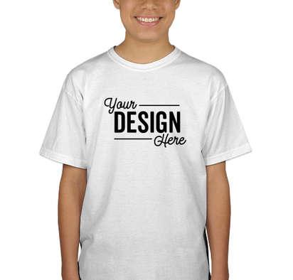 Canada - Gildan Youth 100% Cotton T-shirt - White