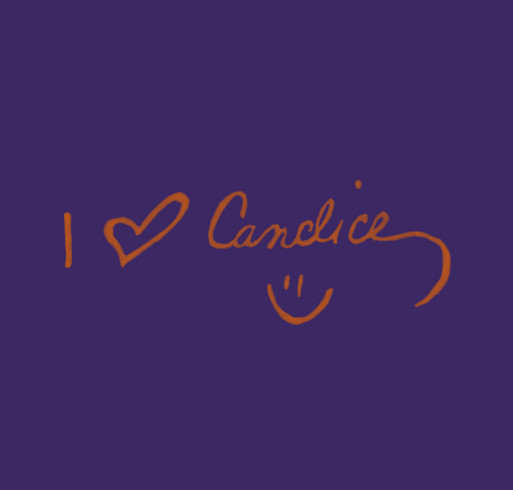 I Heart Candice shirt design - zoomed