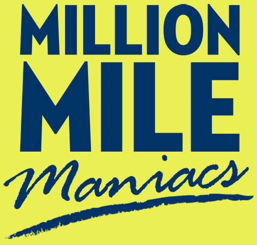 Million Mile Maniacs! shirt design - zoomed