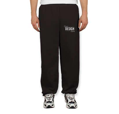 Canada - Gildan Midweight 50/50 Sweatpants - Black