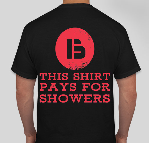 Feel like helping? Fundraiser - unisex shirt design - back