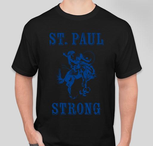 St. Paul Strong Fundraiser - unisex shirt design - front