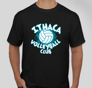Ithaca volleyball club t shirt designs designs for for Ithaca t shirt printing