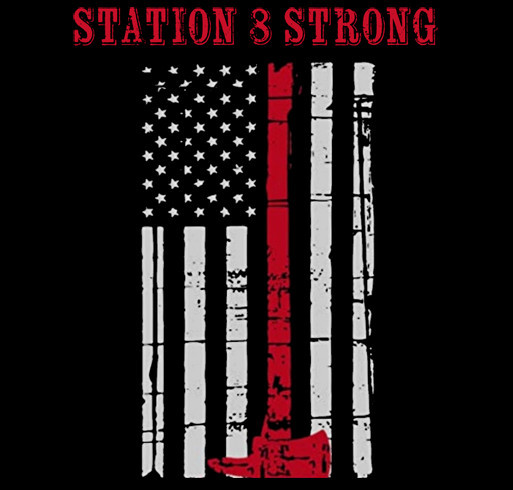 Station 8 Strong shirt design - zoomed