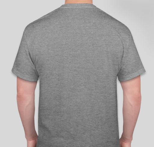 I'm Moose Fontenot's Bro! Fundraiser - unisex shirt design - back