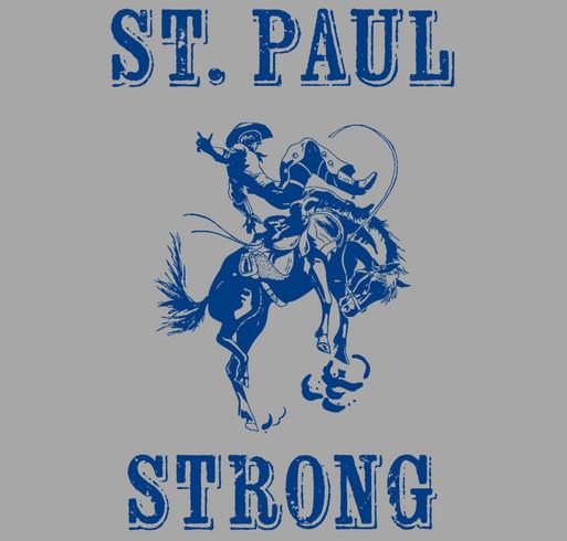 St. Paul Strong shirt design - zoomed