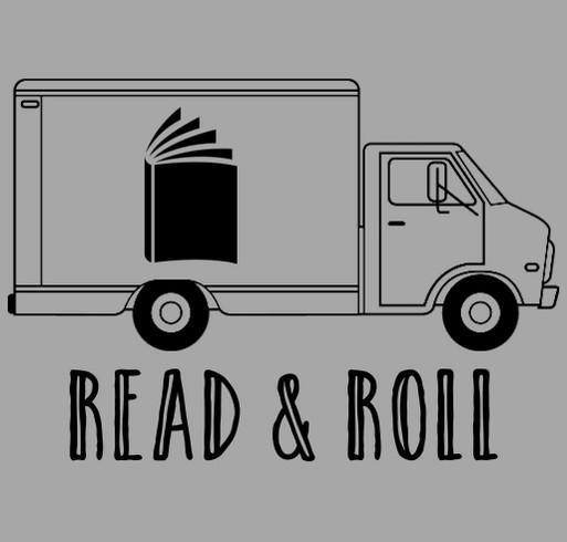 Books that Deliver shirt design - zoomed