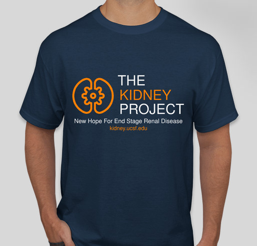 The Kidney Project Fundraiser - unisex shirt design - front
