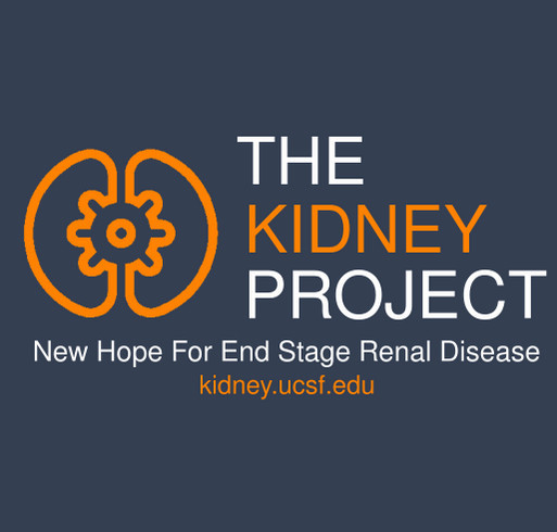 The Kidney Project shirt design - zoomed
