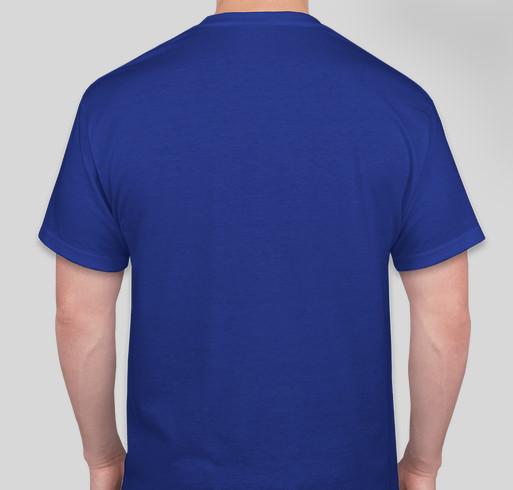 Windy Kitty Fundraiser - unisex shirt design - back