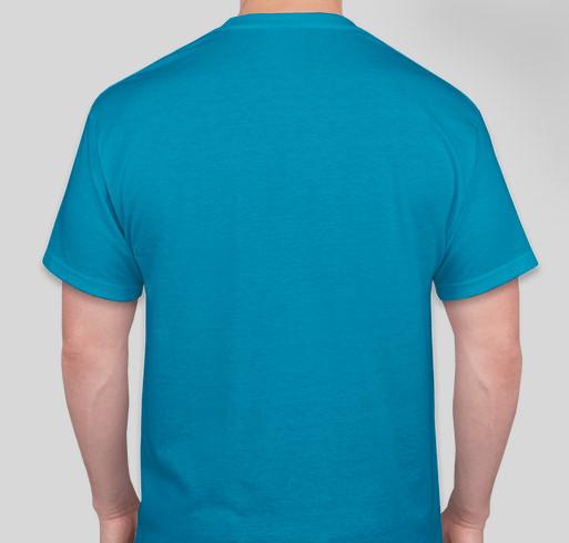 Ethan loves dogs! Fundraiser - unisex shirt design - back