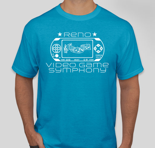 Reno video game symphony custom ink fundraising for Reno t shirt printing