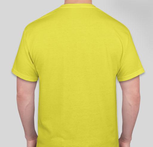 Defenders of the Nansemond River Fundraiser - unisex shirt design - back
