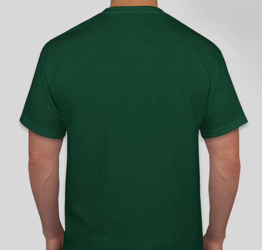 """KBOO """"Plant the Seeds, Defend the Roots"""" Limited Edition T-shirt Fundraiser - unisex shirt design - back"""