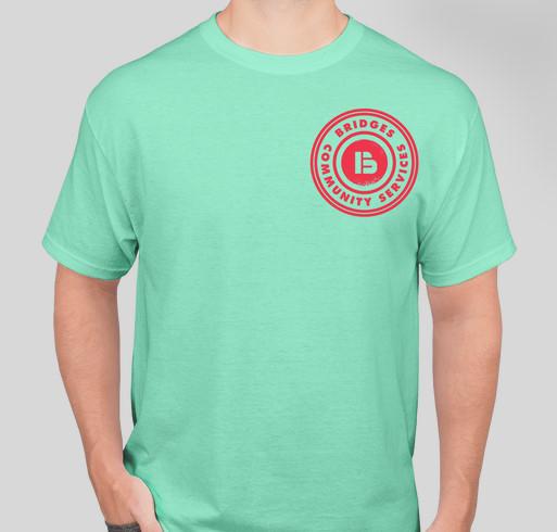 Feel like helping? Fundraiser - unisex shirt design - front