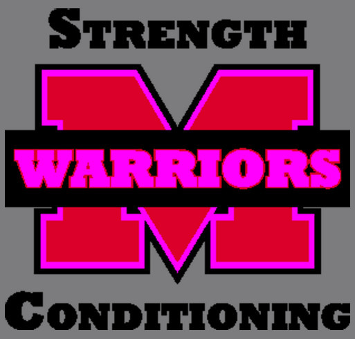 Muskego HS Weight Room Fund shirt design - zoomed